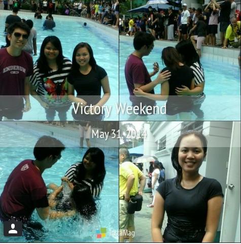 May 31, 2014. Dien's baptism~